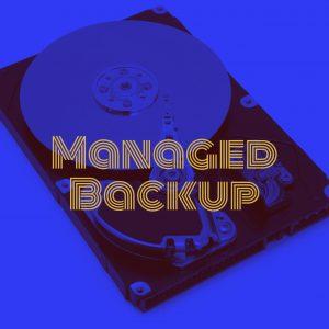 managed backup data